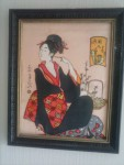 geisha assise